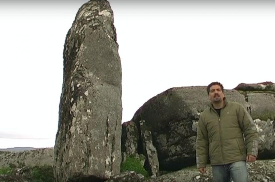"""Carlos Solla, o bardo do Monte Máxico de Galicia: """"Estase convertendo nun santuario pagán de primeira orde"""""""""""