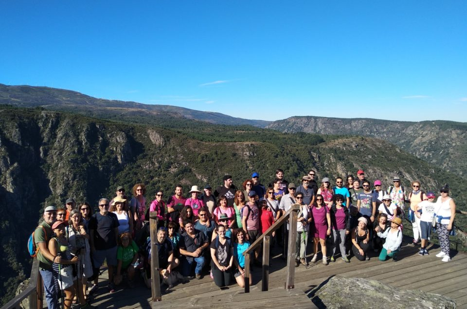 Éxito das primeiras andainas de Rutas de Historia polo Val de Lemos