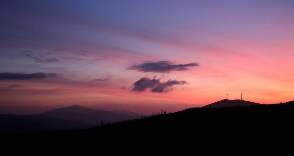 Contorna do Monte Piquiño, no Val da Maía