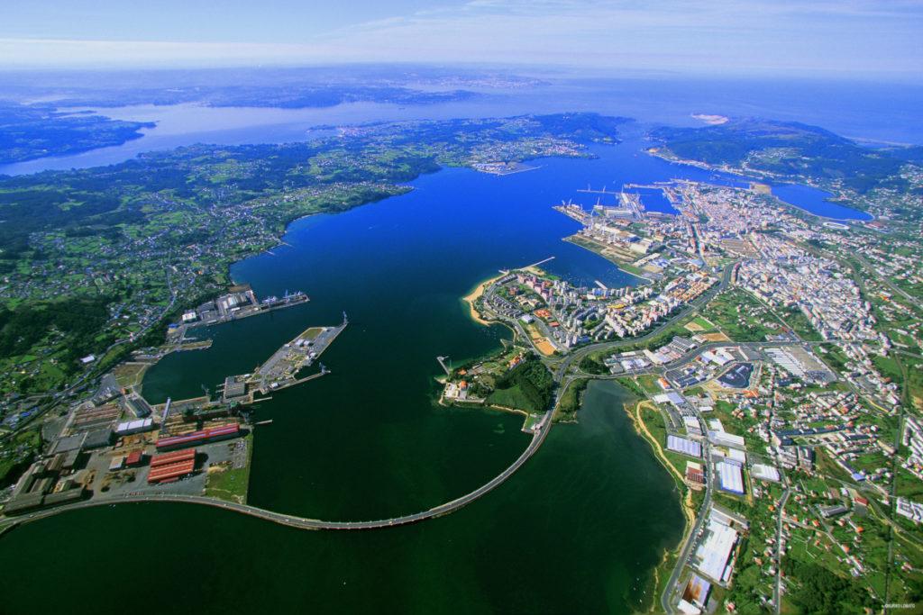 Ferrol e a súa ría / Latimons.wordpress.com